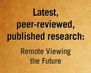Latest Peer-Reviewed Remote-Viewing Research