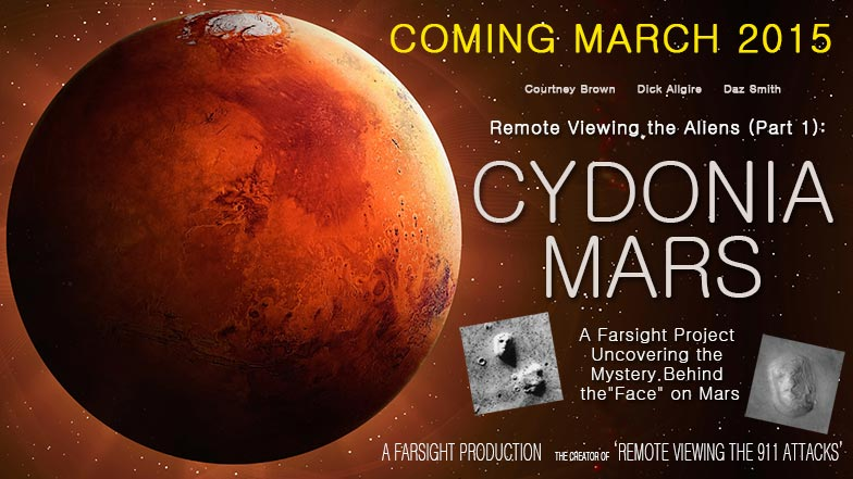 Remote Viewing the Aliens (Part 1): Cydonia, Mars